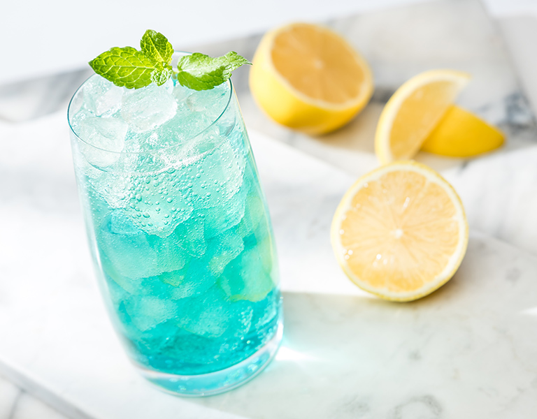 Uporia Blue Citrus Cooler
