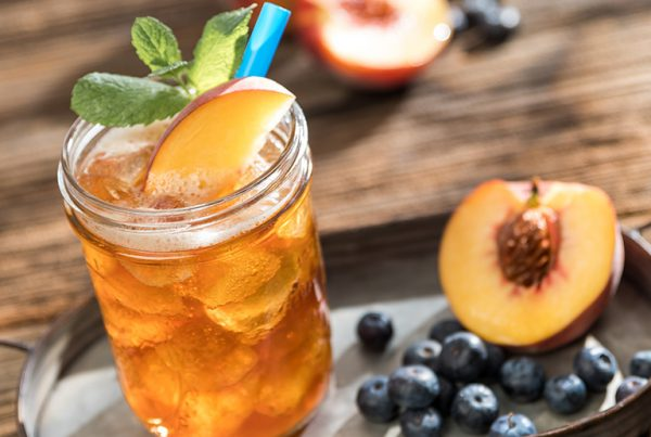 Uporia Blueberry Peach Iced Tea