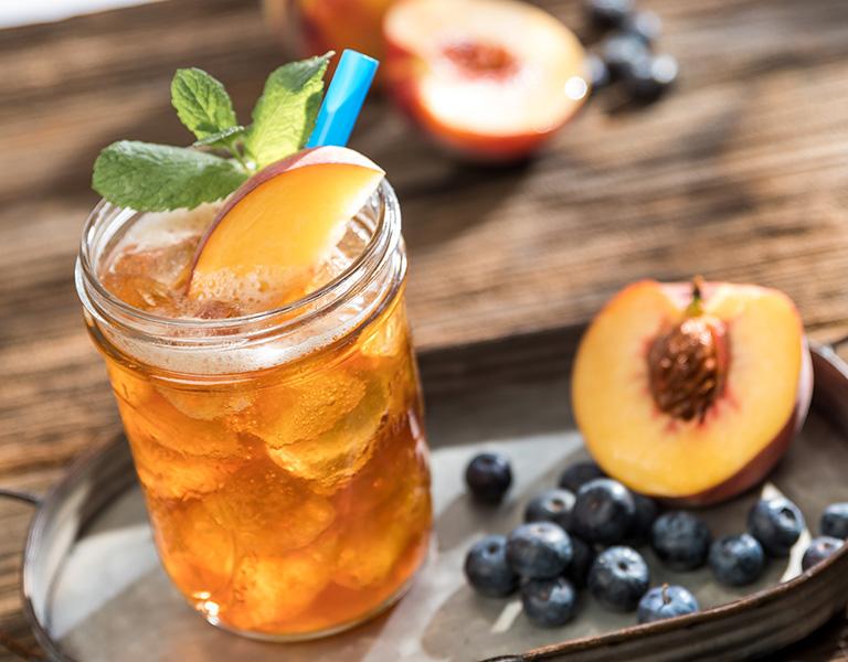 Uporia Blueberry Peach Iced Tea