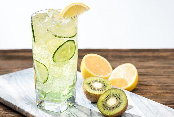 Uporia Lemon Kiwi Cucumber Fizz