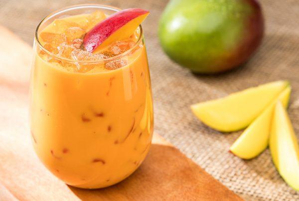 Uporia Mango Carrot Lassi