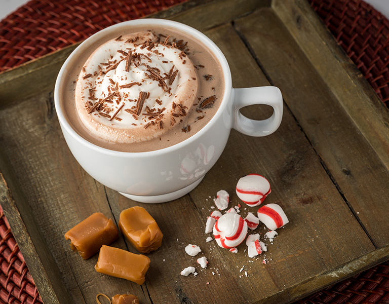 Uporia Peppermint Toffee Hot Chocolate