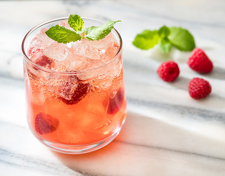 Uporia Raspberry Ginger Lemonade